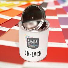 1K Streich-Lack Reparatur Farbe Holzlack Metalllack Schutzlack Lack Außen * 1 L