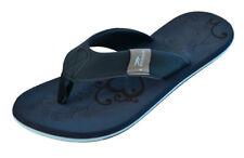 MADSea Damen Zehenstegpantolette Flip Flop Beach Woman dunkelblau/hellblau