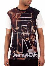 Rocawear Para Hombre Chicos Gold Master Star Summer tee shirts Hip Hop tiempo el dinero es r035