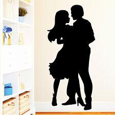 10795 Wandtattoo Loft Aufkleber Romantisches Tanzpaar Liebespaar Lets Dance Love
