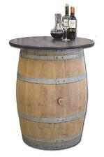 Tonneau en bois,Cuve,Bistrotisch,Table de bar,Meuble de jardin,Tonneaux de vin