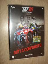 DVD N° 8 TOP 10 MOTOMONDIALE MITI A CONFRONTO TOP10 VALENTINO ROSSI SEALED NUOVO