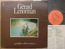 PROMO LABEL GERARD LENORMAN JAPAN 1974