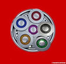 OZ Ringe Gold-Lila-Rot-Blau-Schwarz-Grün Effektlack Racing,Futura