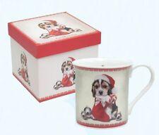 Suki Gifts cane in mano un regalo di Natale Calza Tazza in Scatola Regalo Nuova