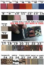 cintura 4 cm ART 1 FUXIA o altro CON  fibbia  militare military belt man