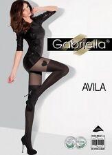 AVILA Collant Noir GABRIELLA
