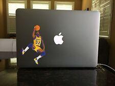 NB-14-12 Lakers Magic Johnson Showtime Mac Window vinyl decal