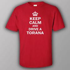 Funny Australian T-shirt JDM OFFROAD KEEP CALM AND DRIVE A TORANA HOLDEN TOYOTA