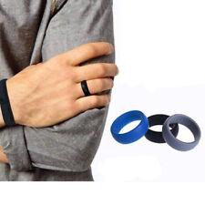 3PCS/Set Men Women Wedding Ring Rubber Silicone Band Active Sport Gym Hot