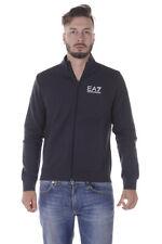 Felpa Emporio Armani EA7 Sweatshirt Hoodie % Uomo Blu 6YPM55PJ07Z-1578
