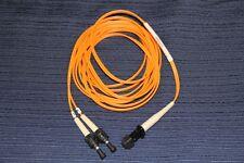 3-Meter Tyco-AMP Fiber Optic Cable ST-MTRJ Multimode 10-ft 62.5/125um 1278027-3