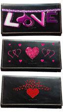 Compagnon Porte Chequier Portefeuille Porte monnaie carte  Saint Valentin Amour