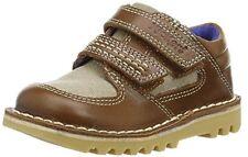 Kickers Kick spacerise Leder Infant Hellbraun/Natur, Knaben Oxford Schuhe