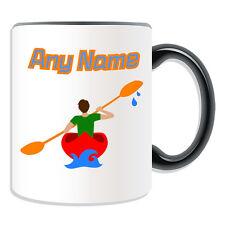 Taza De Kayak De Regalo Personalizado Taza dinero Caja Taza Macho Kayak Paddle Whitewater Sport