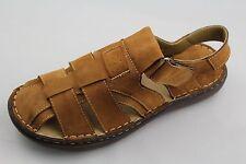 Comforthotics® Men's Closed Toe Leather Sandal Orthotic Support 403-A3