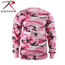 Rothco 8497 Long Sleeve Camo T-Shirt - Pink Camo