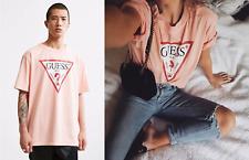 Guess Oversized Vintage Triangle Logo Unisex T-shirt