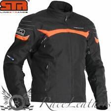 Lindstrands Cheops Naranja Negro Impermeable Motocicleta Moto Chaqueta moto