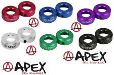 Apex Bar-Ends Stunt-Scooter BMX Griffe Plug Lenker Stopfen mgp district blunt