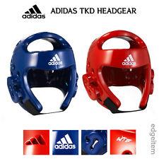 Adidas Taekwondo Headgear Red / Blue Head Gear WTF Approved Guard