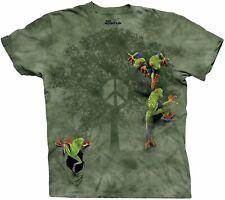 The Mountain Men's Peace Tree Frog T-Shirt