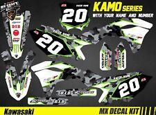 Kit Déco Moto pour / Mx Decal Kit for Kawasaki KXF - Kamo