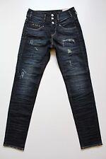 Herrlicher Raya Boy Damen Boyfriend-Jeans 5305, Dunkelblau, W25,26,27,28,29 L32