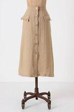Anthropologie Traveling Companion Skirt High Waist Midi By Yoana Baraschi Size 6
