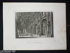 ROMA:Int.Basil.S.Giovanni.Acquaforte - G.COTTAFAVI.1843