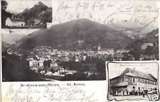 St. Kreuz bei Markirch-Hotel zum grünen Baum - Ak 1908