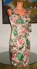 NWT Donna Ricco New York Floral Dress, sz 8 10 * $138 *
