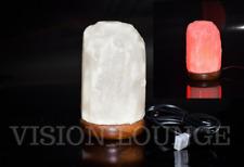 N-Himalayan Salt Ionizing Lamp USB Led Light Rock Salt Lamp Attractive Glowing