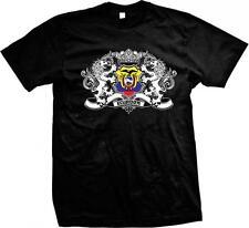 Ecuador Heraldic Lions Ecuadorian Pride Bandera Orgullo Ecuatoriano Mens T-shirt