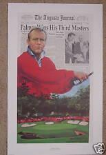 "Douglas London ""ARNOLD PALMER"" Masters-Kings Third Assault at Augusta-PGA Golf"