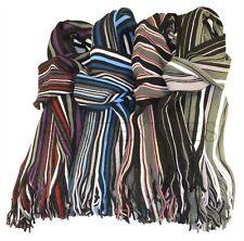 hommes de luxe écharpe rayure, 4 couleurs, souple tissé mode écharpes,