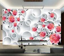 Durable Pulpy Cirrus 3D Full Wall Mural Photo Wallpaper Printing Home Kids Decor