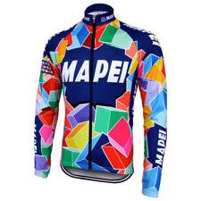 Brand New Team Mapei winter fleece Jersey cycling Jersey Colnago C40 C50 Master