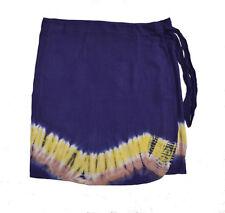 New Beachwear Beach Skirt Full Wrap Around Cover Up Size 6 Dark Blue