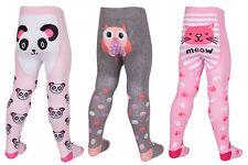 bebé niña Tick Tock Animal Estampados Medias 3 Designs 45b112