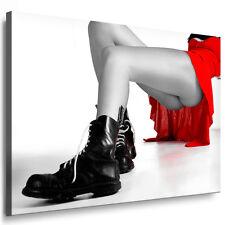 Bild auf Leinwand Sexy Beine gerahmte Bilder Kunstdrucke Wandbilder kein Poster