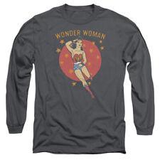 Wonder Woman DC Comics Superhero Wonder Circle Adult Long-Sleeve T-Shirt