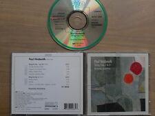 Paul Hindemith-colpo Trios 1 & 2, CD