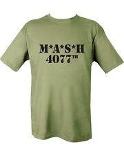 Nuevo Militar Mash 4077th T Shirt Unisex (Us Marines SAS ejército USMC