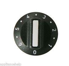UNIVERSAL 0 - 6  Cooker Oven CONTROL KNOB KNOB 6mm Shaft Size