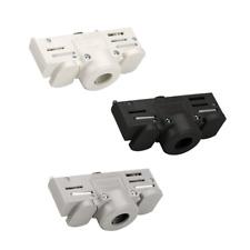 EUTRAC 3-Phasen Stromschienenadapter, inkl. Montagezubehör, schwarz, weiß, grau