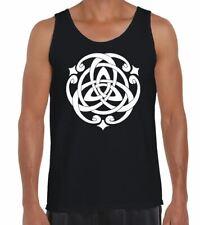 Celtic Knot Men's Vest Tank Top - Pagan Wicca Festival T-Shirt