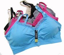 Coobie Full Size Strappy V-Neck Lace Trim Bra One Size Style 9042F