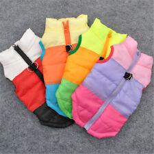 Waterproof Pet Dog Puppy Warm Coat Medium Dog Padded Clothes Jacket Padded Vest