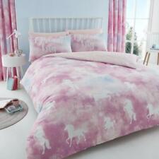 Unicorn Dreams Luxurious Duvet Cover Set Quilt Covers Reversible Bedding Sets GC